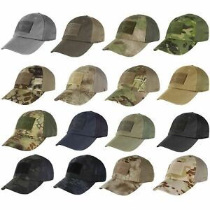 Condor TCM Adjustable Hook and Loop Patch Hiking Hunting Mesh Tactical Cap Hat