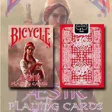 BICYCLE AESIR VIKING GODS DECK RED PLAYING CARDS DECK NEW