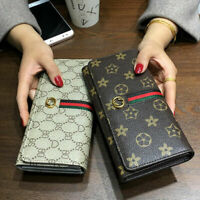 Clutch Women Leather Wallet Long Card Holder Phone Bag Case Purse Handbag Ladies
