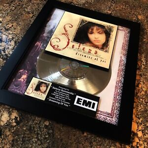 Selena Quintanilla Dreaming Of You Million Record Sales Music Award LP Vinyl