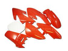RED Plastic 7 piece Kit PIT BIKE DIRT BIKES Honda XR50 SSR SDG 110 125 NEW