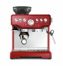 Breville Barista Espresso Coffee Machine - Red