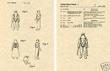Hoth Storm Trooper Us Patent Art Print Ready To Frame! Goerge Lucas Star Wars