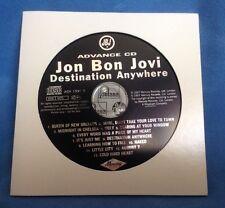 JON BON JOVI - 13 TRACK CD PROMO - DESTINATION ANYWHERE - ADV19979 - UK ADVANCE