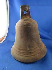 ancienne grande cloche en bronze epoque XIXe