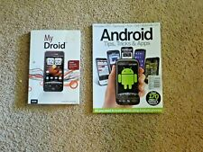 2 Android Droid Books Instructions Tips Tricks Apps for Phone 2011  (G9 18)