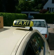 MERCEDES W212 W205 W246 Dachschild HALE TRS-14 Taxi Dachzeichen Lampe Taxischild