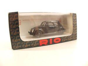 Rio 104 Volkswagen Kdf 1939 Estándar Limusina 1/43 Nuevo en Caja/ Caja