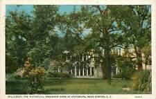 South Carolina, SC, Stateburg, Hillcrest, Anderson Home 1934 Postcard
