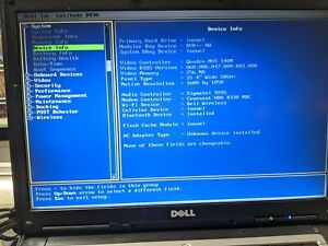 """DELL Latitude D830 15.4"""" screen 4GB RAM Intel Core Duo 2.2Ghz [FC-77-4AB]"""
