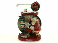 """Coca-Cola """"The Pause That Refreshes"""" Santa 2004 Christmas Collector Plate"""