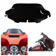 Dark Smoked Black ABS Windscreen Windsheild for Harley Electra Glide 1996-2013