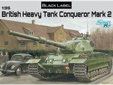 DRAGON BRITISH HEAVY TANK CONQUEROR MARK II  Scala 1/35 Cod.3555