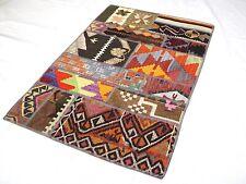 Kilim Doormat, 24x35in, Rug Doormat, Patchwork Doormat, Handmade Vintage Doormat