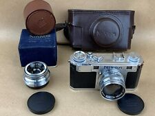 Nikon S MIOJ Rangefinder Camera 50/1.4 & 35/3.5 Tokyo Lenses Super Clean & RARE