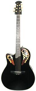 Ovation Celebrity CS-247 LEFT HANDED Acoustic Electric Roundback Guitar #R9251