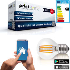 Smart Home lámparas LED Filament retro a60 e27 pera 5w Alexa echo Home WLAN