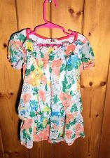 NWT Adorable  Floral Girls Shirt Top, Size 116-122