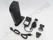 Kensington HP ProBook 465 G1 640 G1 USB 3.0 Docking Station w/ DVI Video Inc PSU