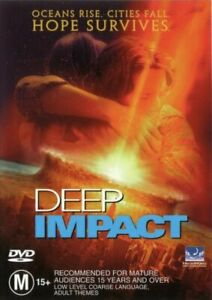 Deep Impact DVD - Morgan Freeman