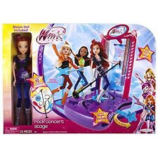 Winx Club Concert Stage with Doll, New in Box