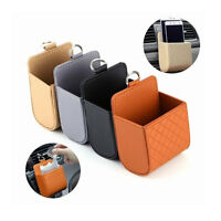 Car Seat Back Tidy Storage Coin Bag Organizer Holder Pounch Box For phone Cool