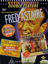 FRED ASTAIRE (Royal Wedding & Second Chorus) 2 Classic Comedy Films DVD NEW