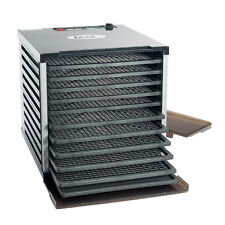 Lem #1153 10-TRAY DOUBLE DOOR COUNTERTOP DEHYDRATOR