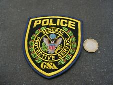 PATCH POLICE ECUSSON COLLECTION  USA   police  federal protective service