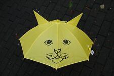 Regenschirm Sonnenschirm Kinder Regenschirm in Gelb  Ø 70 cm, Automatik