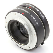 Pixco Auto Focus Macro Extension Tube set for Fuji FX Camera Fujifilm X-A2 X-T1