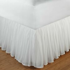"""Greenland Home Cotton Voile Bed Skirt Twin Full Queen Or King 18"""""""