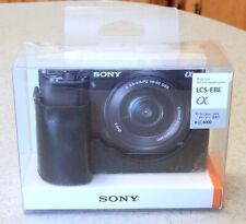 SONY  LCS-EBE Black Body Case for Alpha A6000
