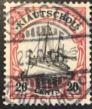 Kolonien Kiautschou gestempelt Mi. Nr. 22  40 Pfennig