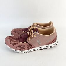 On Cloud Womens Pink Running Athletic Sneakers Shoes Womens Size 8