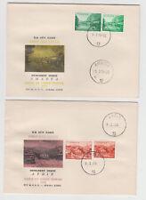 Turkey 10 FDCs 1958