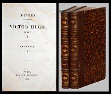 VICTOR HUGO - CROMWELL - RENDUEL 1836 (2 vol.)
