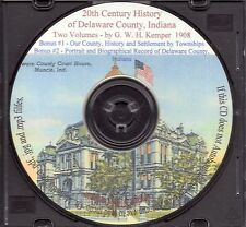 Delaware County Indiana History Duo - IN Genealogy