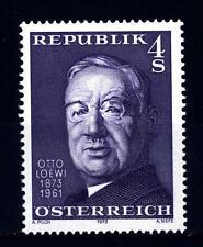 AUSTRIA - 1973 - Centenario della nascita di Otto Loewi, psicologo