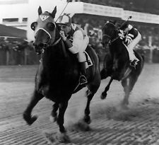 1938 Seabiscuit War Admiral Pimlico Race Track Horse Racing 8x10 Photo HOT Champ