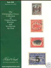 Siegel,  US Rarities, Worldwide Airpost, Sale 849, 2002