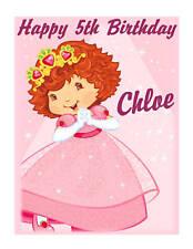 Strawberry Shortcake Berry Princess edible cake image birthday cake decoration