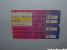 PINK FLOYD Concert Ticket Stub 1987 PHILADELPHIA JFK STADIUM David Gilmour RARE