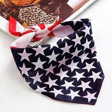 Kerchief Country Flag Print Cotton Bandana Doubleside Head Wrap Scarf Hair