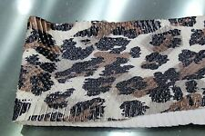 Asia Leopard Printed-on Snake Skin Hide Leather Snakeskin Craft Supply #P03