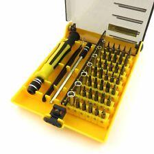 45 in 1 Precision Torx Screw Driver Set Repair Tweezers Phone Laptop Tools Kit