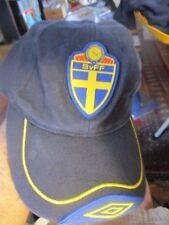 SWEDEN FOOTBALL National Team Boys Flex Fit Hat SVIERGE SvFF Soocer World Cup