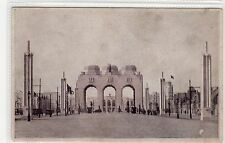 1930 EXHIBITION, ANTWERP: Belgium transparency hold to light postcard (C26999)