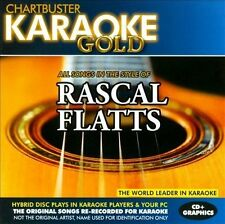 NEW Karaoke Gold: Songs in the Style of Rascal Flatts (Audio CD)