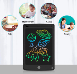 """12"""" Electronic Digital LCD Writing Tablet Drawing Board Graphics Kids Gift Fun"""